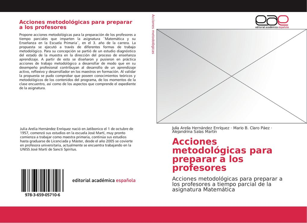 Acciones metodológicas para preparar a los profesores als Buch von Julia Arelia Hernández Enríquez, Mario B. Claro Páez, Alejandrina Salas Martín