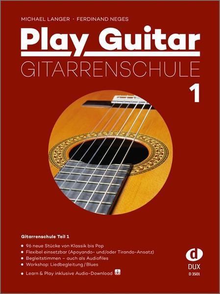 Play Guitar Gitarrenschule 1 als Buch von Michael Langer, Ferdinand Neges