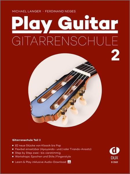 Play Guitar Gitarrenschule 2 als Buch von Michael Langer, Ferdinand Neges