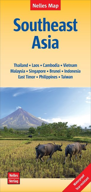 Nelles Map Southeast Asia 1 : 4 500 000 als Buc...