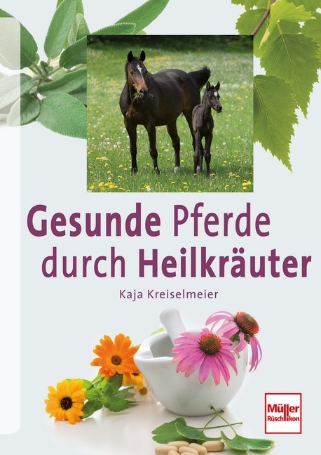 Pferde gesund und vital durch Heilkräuter als Buch von Kaja Kreiselmeier