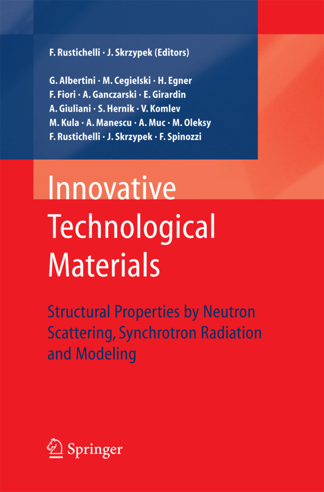 Innovative Technological Materials als Buch von