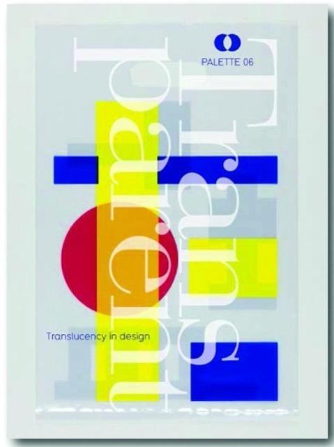Palette 06 - Transparent als Buch von Viction Workshop