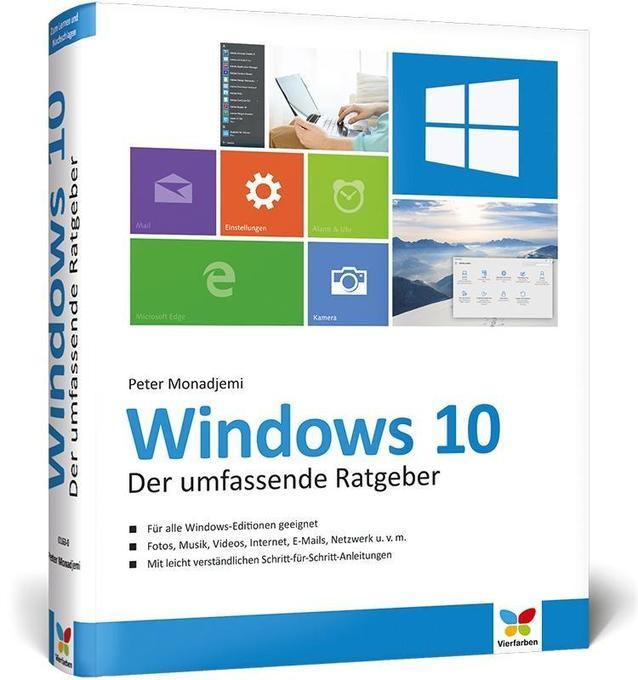 Windows 10 als Buch von Peter Monadjemi