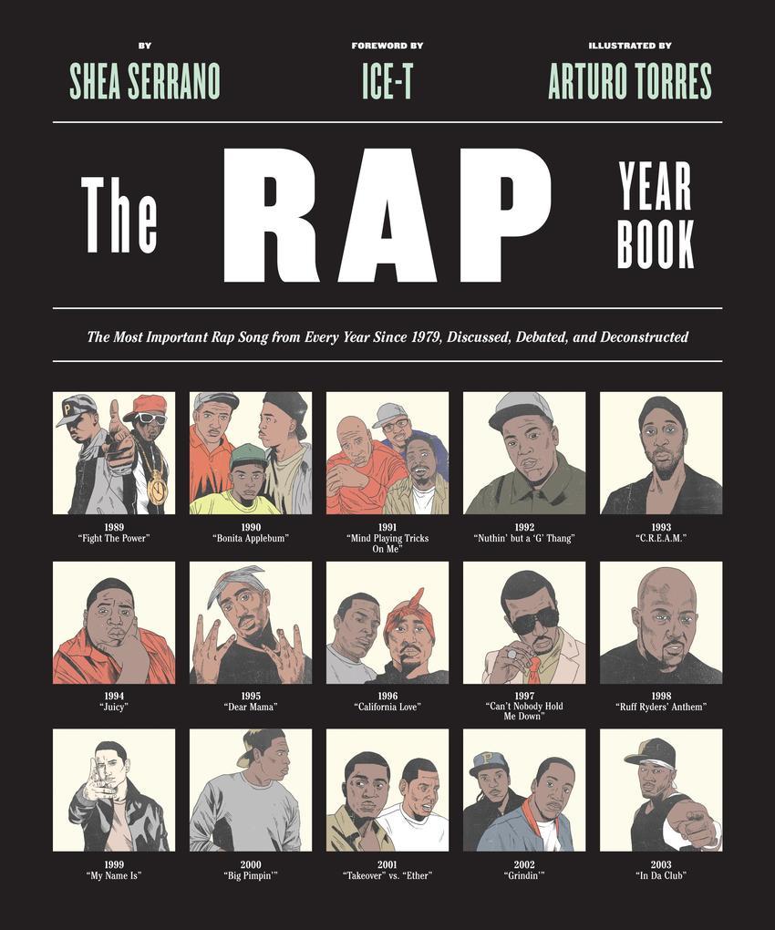 The Rap Year Book als Buch von Shea Serrano