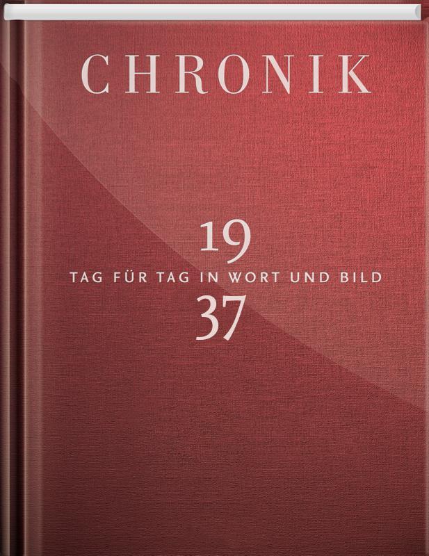 Chronik 1937 als Buch von