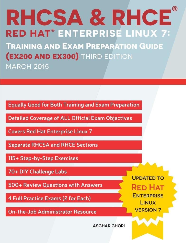 RHCSA & RHCE Red Hat Enterprise Linux 7: Traini...