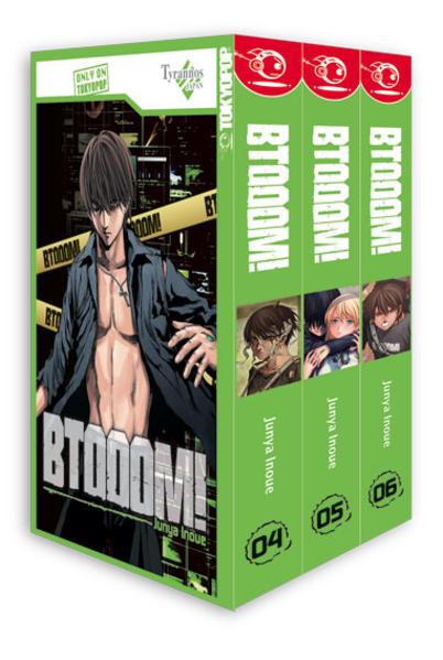 BTOOOM! Box 02 als Buch von Junya Inoue