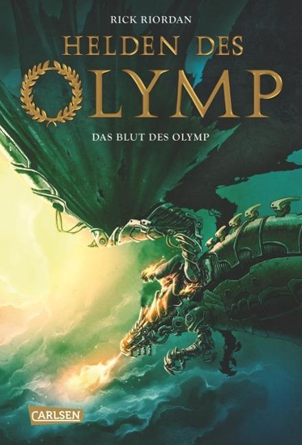 Helden des Olymp 05: Das Blut des Olymp als Buch von Rick Riordan
