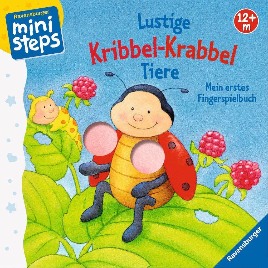 Lustige Kribbel-Krabbel Tiere als Buch von Sandra Grimm