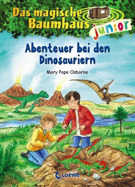 Das magische Baumhaus junior 01 - Abenteuer bei den Dinosauriern als Buch von Mary Pope Osborne
