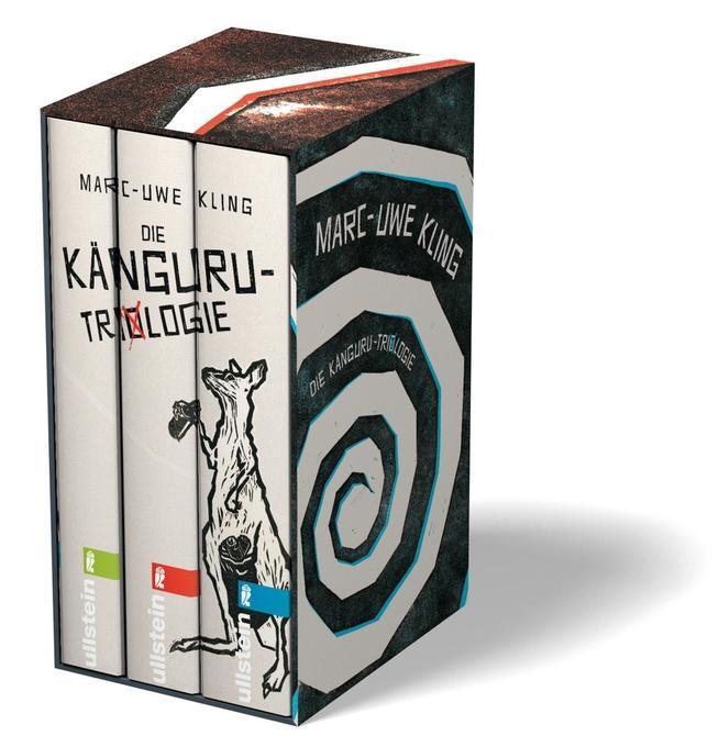 Die Känguru-Trilogie als Buch von Marc-Uwe Kling