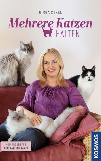Mehrere Katzen halten als Buch von Birga Dexel