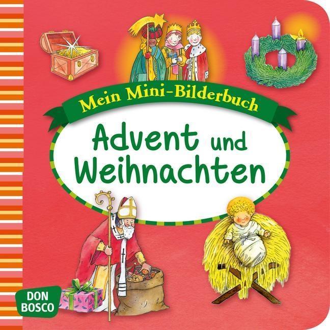 Mein Mini-Bilderbuch: Advent und Weihnachten als Buch von Esther Hebert, Gesa Rensmann