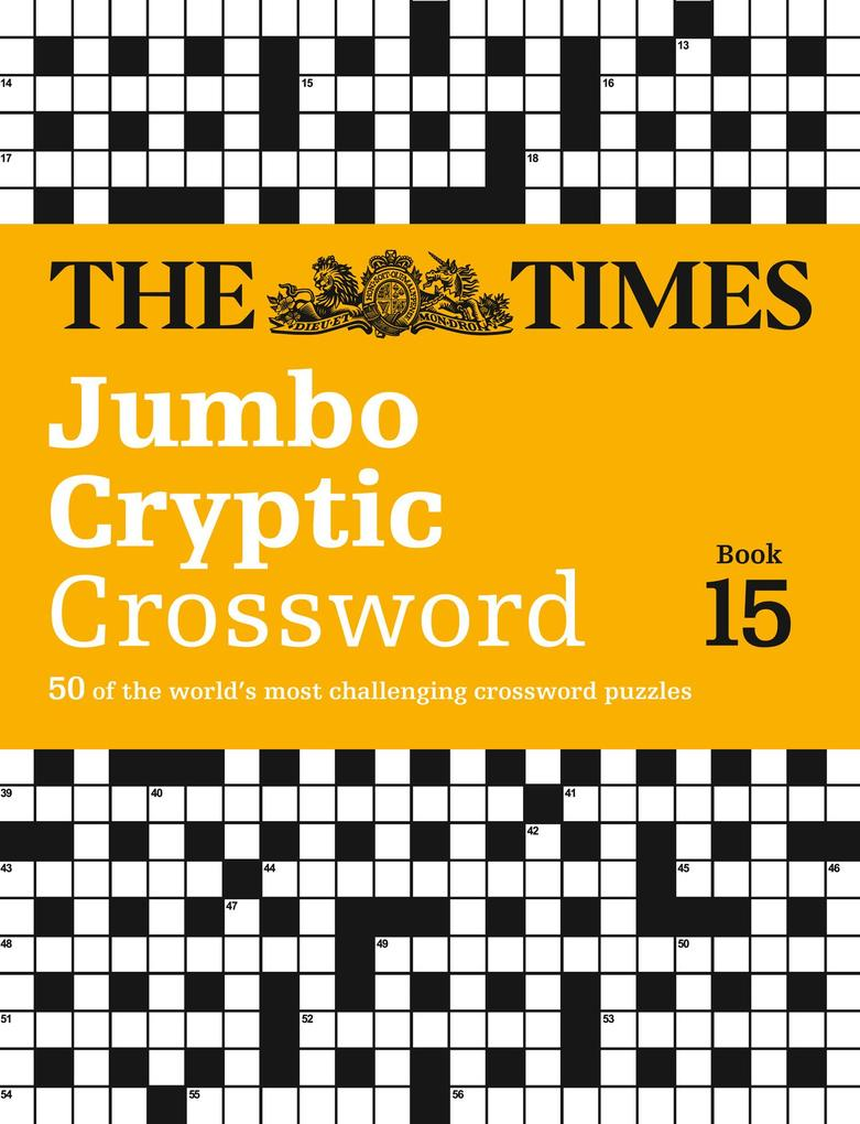 The Times Jumbo Cryptic Crossword, Book 15 als ...