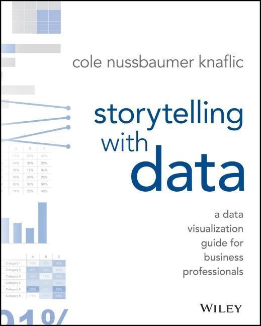 Storytelling with Data als Buch von Cole Nussbaumer Knaflic