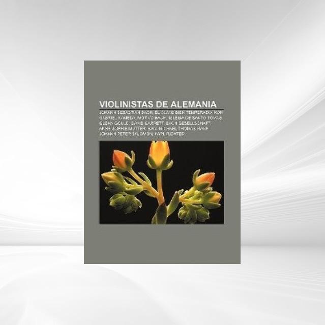 Violinistas de Alemania als Taschenbuch von