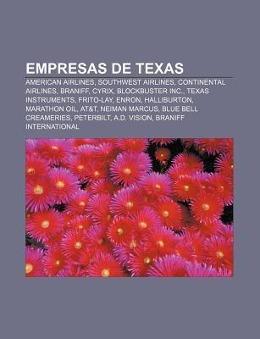 Empresas de Texas als Taschenbuch von