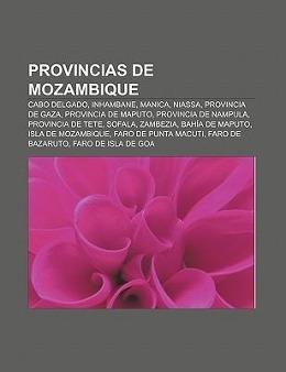 Provincias de Mozambique als Taschenbuch von