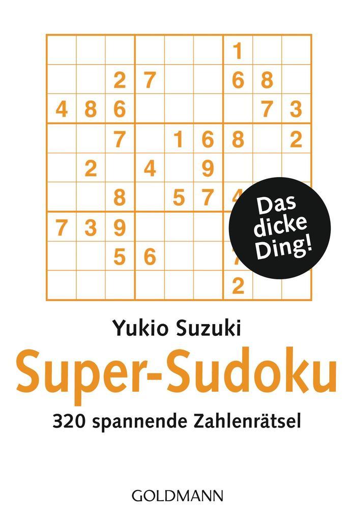 Super-Sudoku als Taschenbuch von Yukio Suzuki
