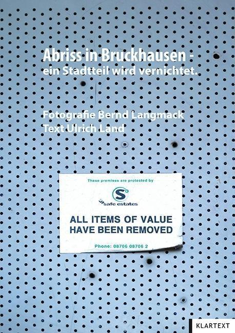 Abriss in Bruckhausen - ein Stadtteil wird vern...