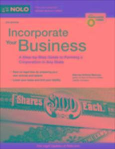 Incorporate Your Business als eBook von Anthony...