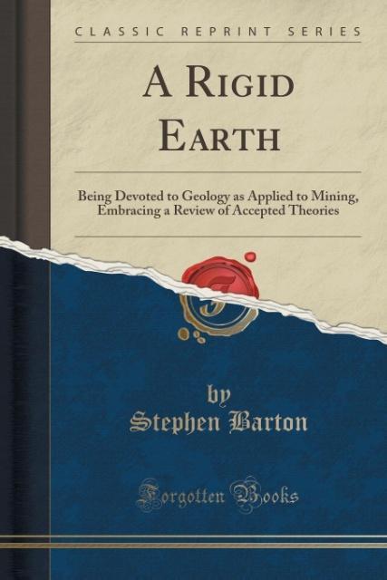A Rigid Earth als Taschenbuch von Stephen Barton