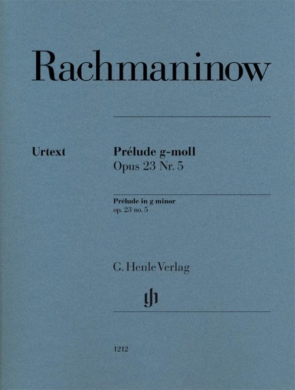 Prélude g-moll op. 23 Nr. 5 als Buch von Sergej Rachmaninow