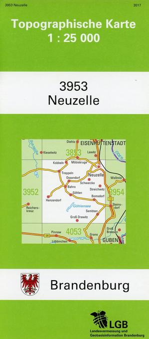 Neuzelle 1 : 25 000 als Buch von
