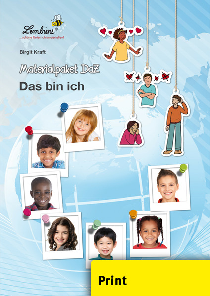 Materialpaket DaZ: Das bin ich (PR) als Buch von Birgit Kraft