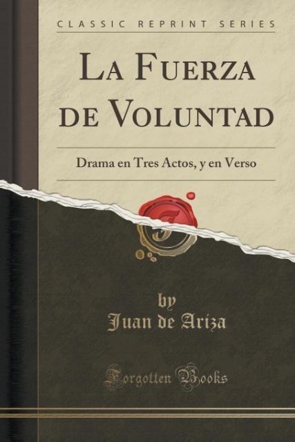 La Fuerza de Voluntad als Taschenbuch von Juan ...
