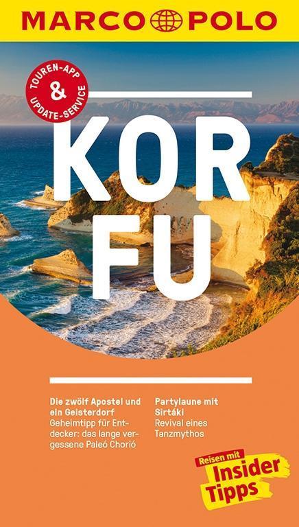 MARCO POLO Reiseführer Korfu als Buch von Klaus Bötig