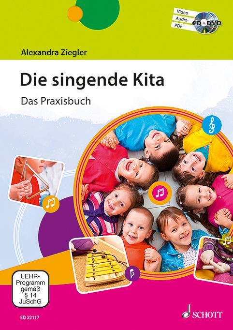 Die singende Kita als Buch von Alexandra Ziegler