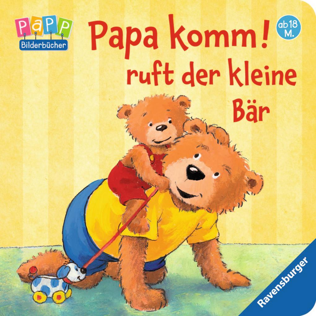 Papa komm! ruft der kleine Bär als Buch von Sandra Grimm