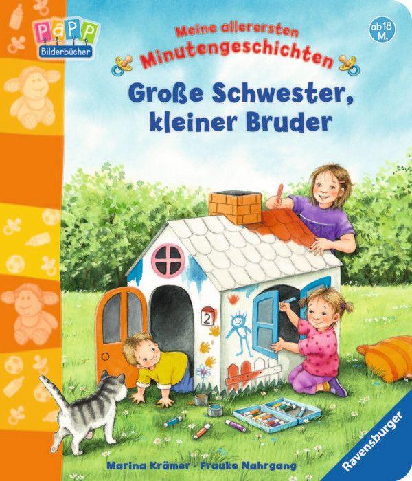 Große Schwester, kleiner Bruder als Buch von Frauke Nahrgang