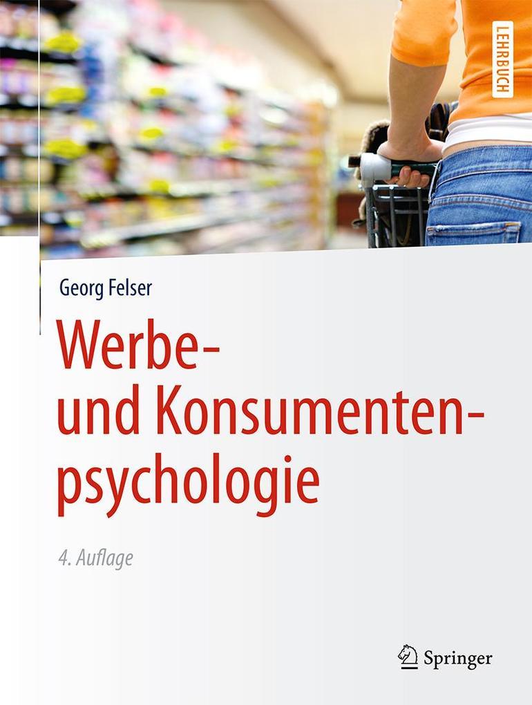 Werbe- und Konsumentenpsychologie als eBook von...