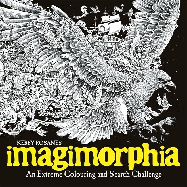 Imagimorphia als Buch von Kerby Rosanes
