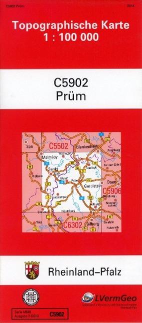 Prüm 1 : 100 000 als Buch von Landesamt für Vermessung und Geobasisinformation Rheinland-Pfalz