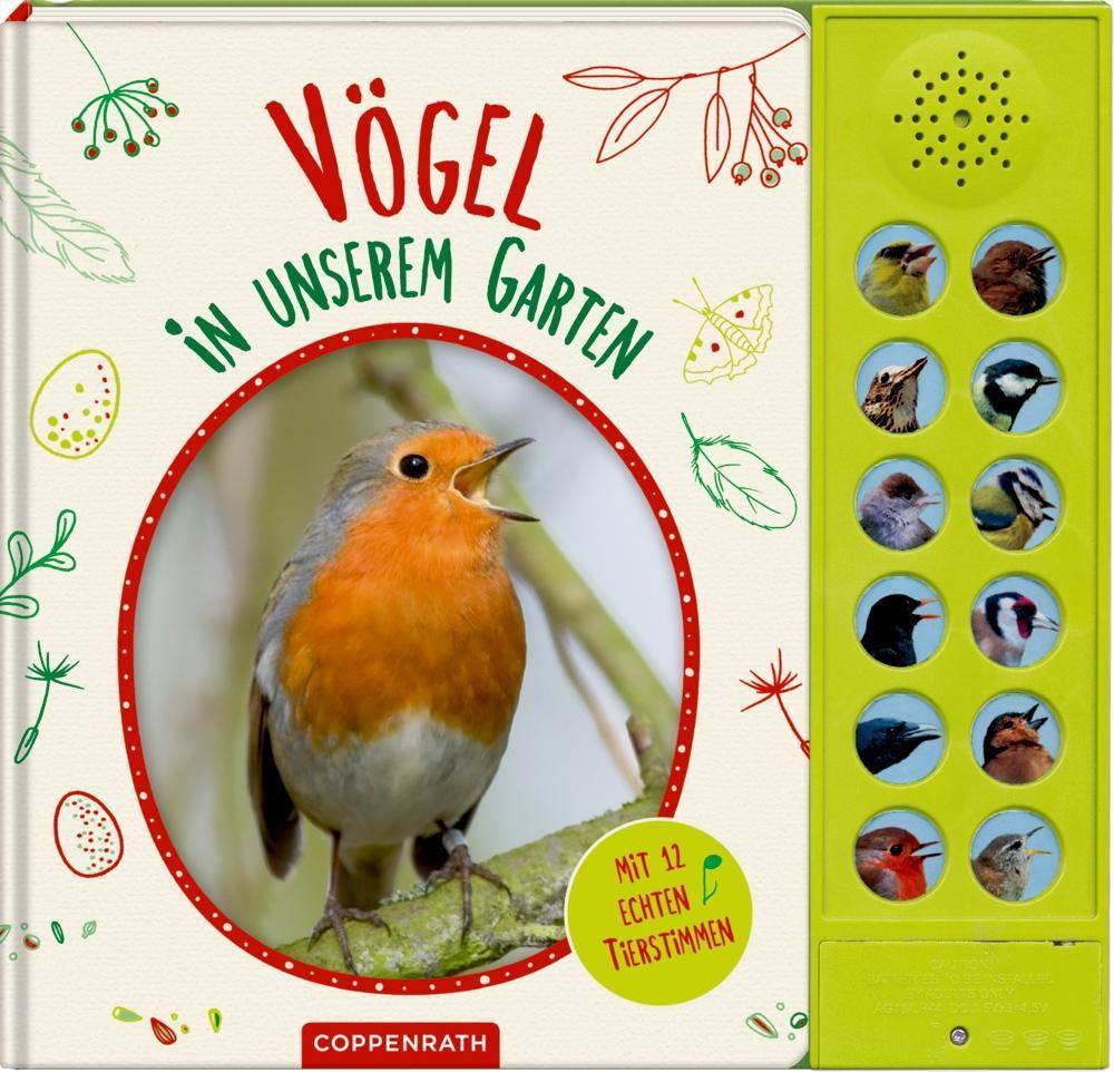 Vögel in unserem Garten als Buch von Holger Haag