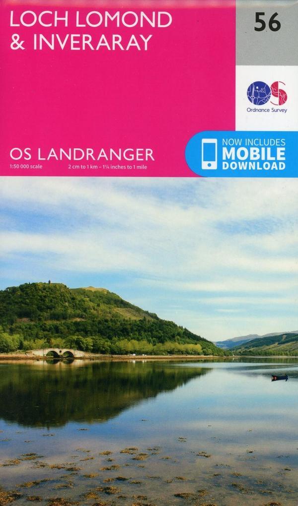 Loch Lomond Inverary 1 50 000 als Buch von