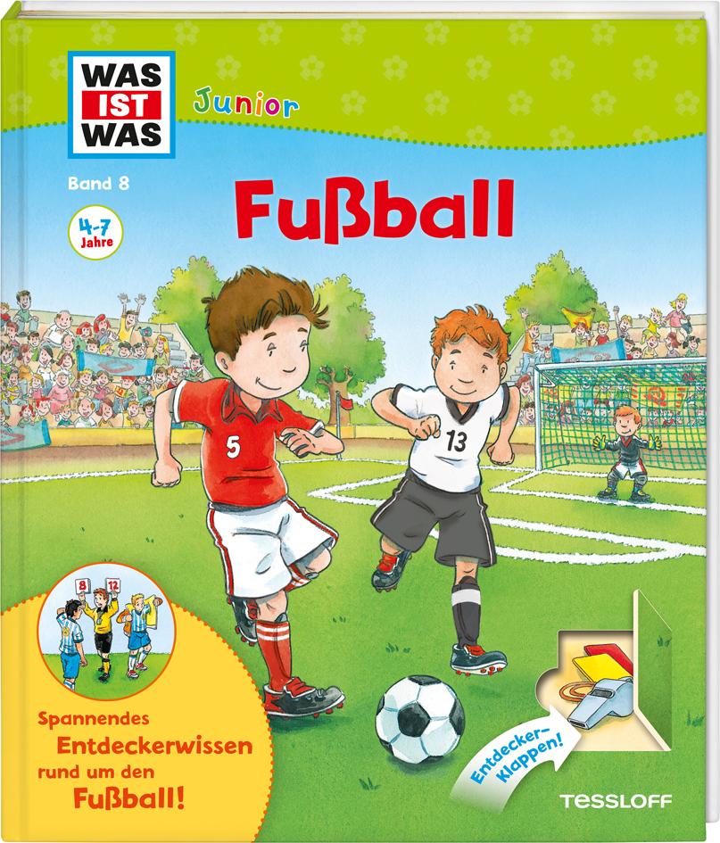 WAS IST WAS Junior 08. Fußball als Buch von Andrea Beständig, Christina Braun