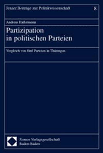 Partizipation in politischen Parteien als Buch ...
