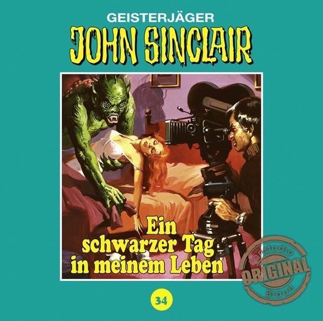John Sinclair Tonstudio Braun - Folge 34 als Hörbuch CD von Jason Dark