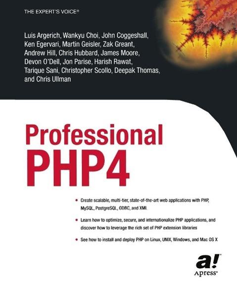 Professional PHP4 als eBook von Luis Argerich