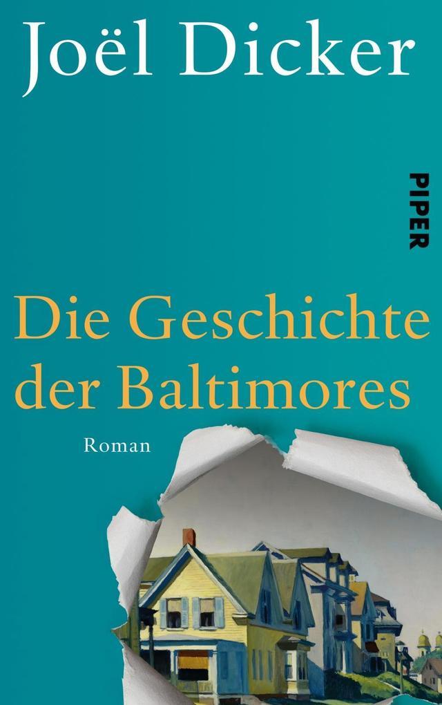 Die Geschichte der Baltimores als Buch von Joël Dicker