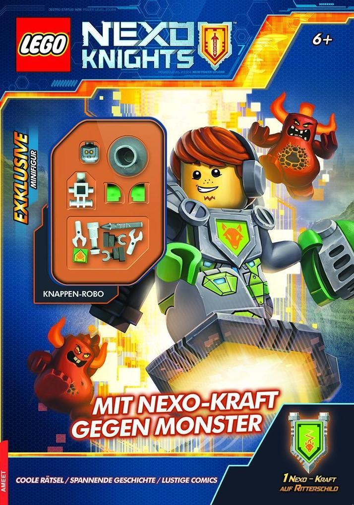 LEGO® Nexo Knights(TM) Mit Nexo-Kraft gegen Monster als Buch von