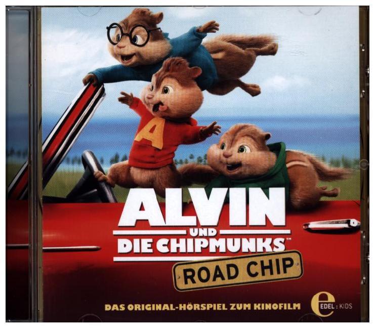 Alvin und die Chipmunks 04. Road Chip als Hörbuch CD von