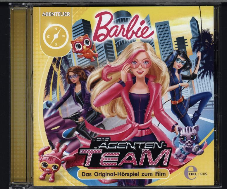 Barbie in: Das Agenten-Team als Hörbuch CD von
