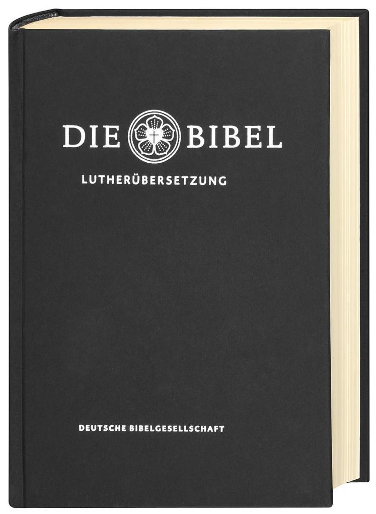 Lutherbibel revidiert 2017 - Die Taschenausgabe (schwarz) als Buch von