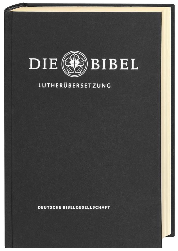 Lutherbibel revidiert 2017 - Die Standardausgabe (schwarz) als Buch von